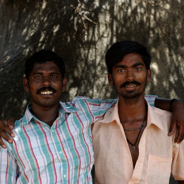 Friends in South India. Photo credit: David Trattnig.